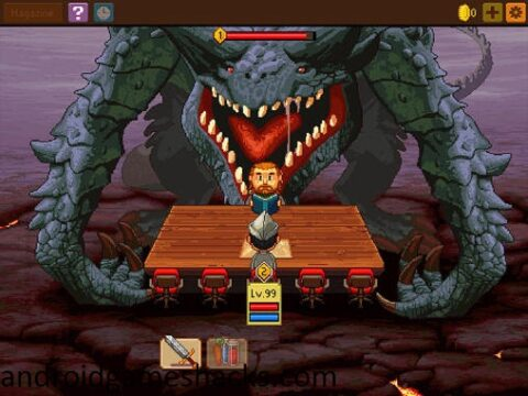 Knights of Pen & Paper 2 v1.07 Mod Hack apk.