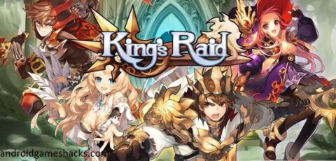 Kings Raid v1.1.4 Mod apk, kings raid hack apk