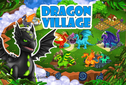 dragon village mod apk download