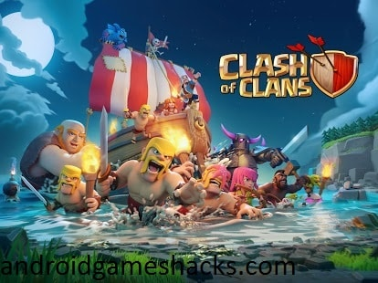 Clash of Clans 8.709.16 Mod Hack apk